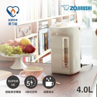 【ZOJIRUSHI 象印】*4公升* SuperVE真空省電微電腦電動熱水瓶(CV-TWF40)