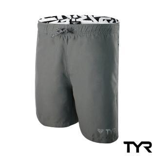 【美國TYR】男款透氣慢跑短褲 Bentley Shorts Gray(台灣總代理)