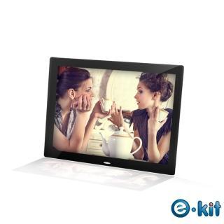 【逸奇e-Kit】15吋數位相框電子相冊-黑色款(DF-V801_BK)
