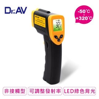 【Dr.AV】紅外線槍型 溫度計(GE-433A)