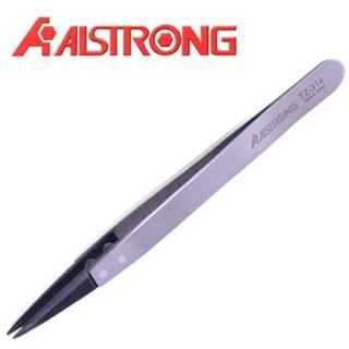 【ALSTRONG】抗磁性軟墊特尖鑷子TZ-314