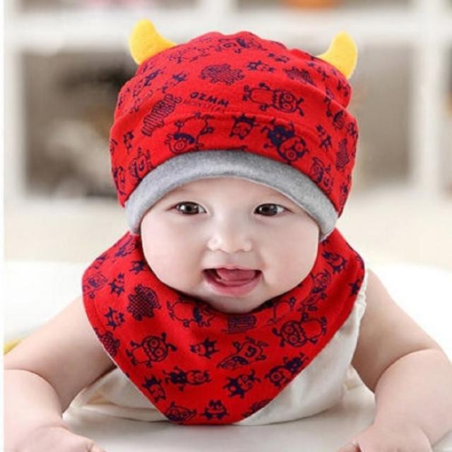【PS Mall】寶寶童帽 小怪獸嬰兒帽(J1881)限量出售