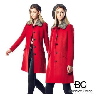 【法國BC】胡小禎代言-法國羊毛大衣急凍限量補貨檔(兩色任選)