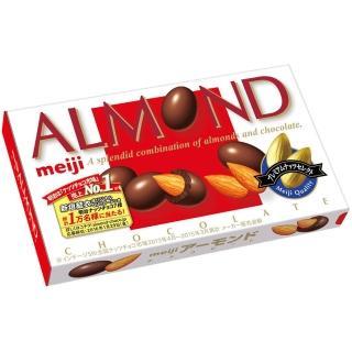 【Meiji 明治】杏仁豆巧克力盒裝(88g)