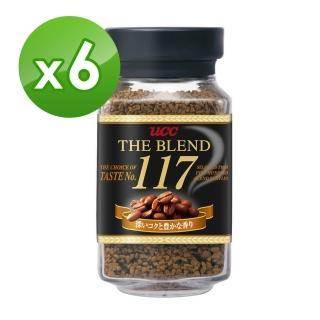 【UCC】117即溶咖啡x6罐組(90g/罐)
