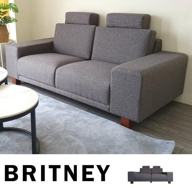 【BN-Home】BRITNEY純粹北歐風格布沙發 雙人座(雙人沙發/休閒椅/布面沙發)