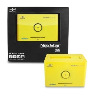 【凡達克超高速傳輸方塊】台灣製造2.5吋/3.5吋SATA I/II/III 硬碟至超高速USB3.0硬碟外接座(NST-D306S3-YW)