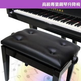 【美佳音樂】高級專業鋼琴升降椅-黑色(可調整高度/台灣製造)