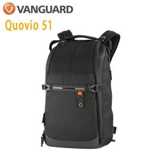 【Vanguard 精嘉】Quovio 闊影者 51 攝影長鏡頭雙肩包(公司貨)
