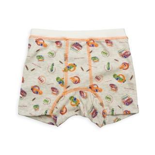 【annypepe】兒童內褲 純棉男童四角褲-徽章車