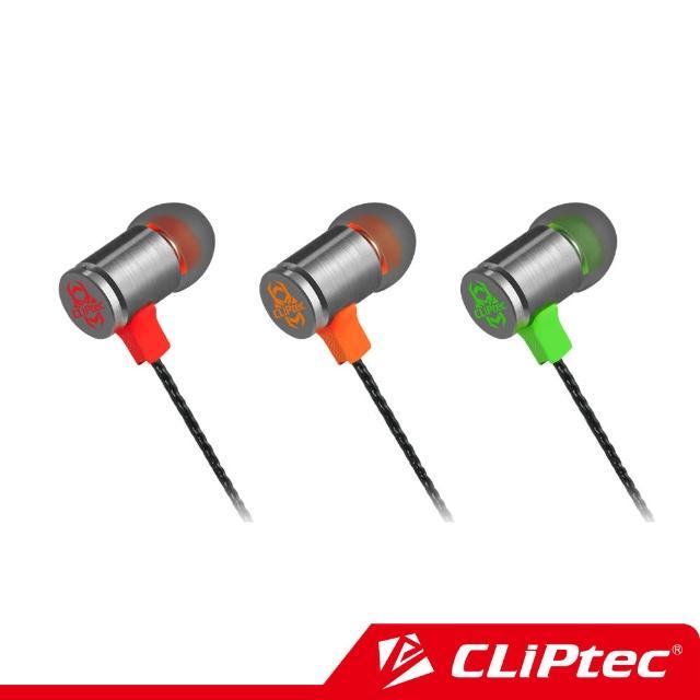 【CLiPtec】FIRE-BULLET入耳式電競耳機麥克風