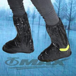 【天龍牌】超跑賽車型雨鞋套-全黑(12H)