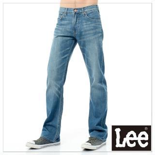 【Lee】727 中腰標準直筒-男款-中漂藍(中腰、直筒)