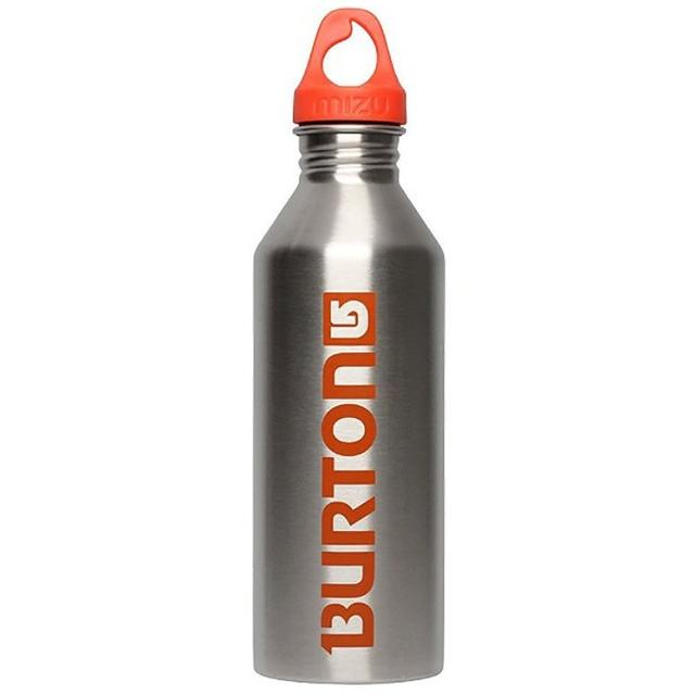 【MIZU】M8極限聯名水壺 MIZU x Burton-Process Logo Stainless w Orange Print-不鏽鋼版-800ml(Burton)