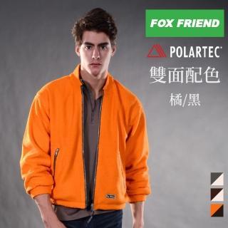 【FOX FRIEND 狐友】POLARTEC雙面穿珍珠刷毛大衣(717)