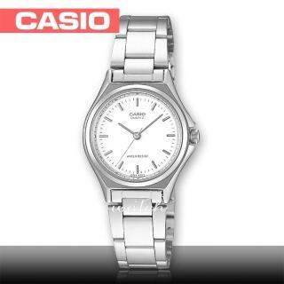 【CASIO 卡西歐】簡約時尚_不鏽鋼錶帶_生活防水_礦物玻璃_氣質女錶(LTP-1130A)