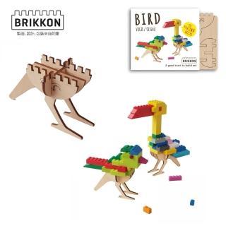 【BabyTiger虎兒寶】荷蘭 BRIKKON(益智遊戲板 啾啾小鳥兒)
