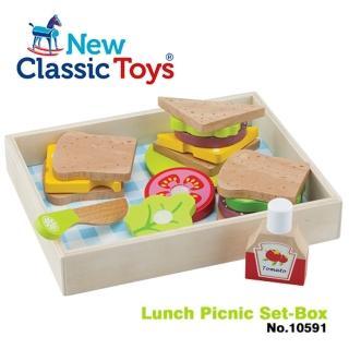 【荷蘭New Classic Toys】午後時光輕食野餐18件組(10591)