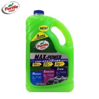 【Turtle Wax 美國龜牌】超潔淨3效洗車精 T597(汽車車用洗車精)