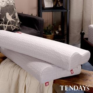 【TENDAYS】柔織舒壓枕 2入任選 買加贈(8cm/10cm高 記憶枕)