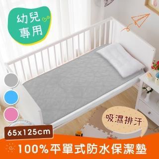 【三浦太郎】幼兒專用。吸濕排汗專利。防水平單式保潔墊65X125/三色任選(保潔墊/吸濕墊)
