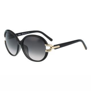 【CHLOE】-太陽眼鏡 經典氣質CE696SA-001(黑色)