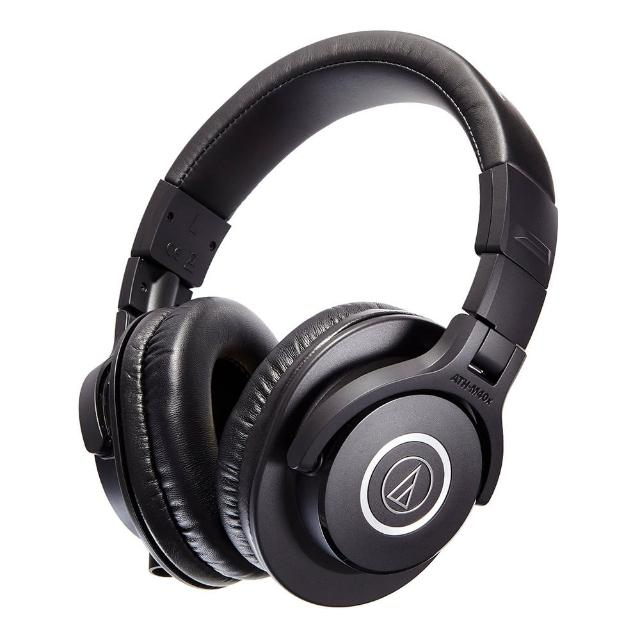 【鐵三角】ATH-M40x 高音質錄音室用專業型監聽耳機