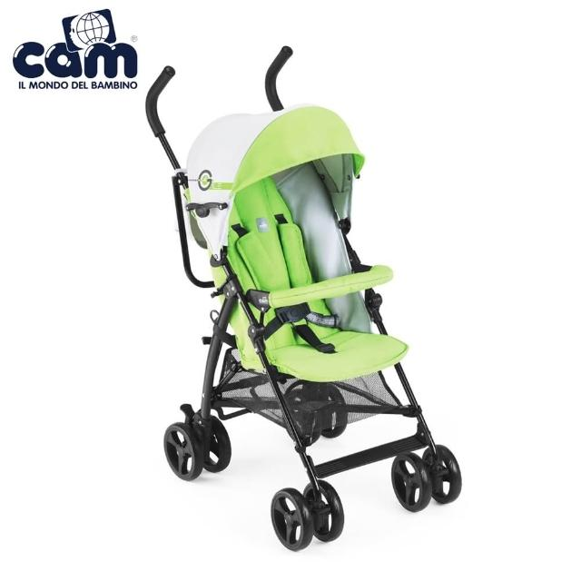 【義大利 CAM】輕便型嬰幼兒手推車傘車(鮮綠)