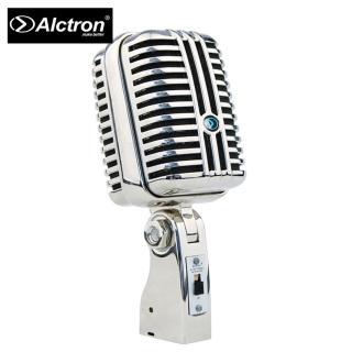 【ALCTRON】DK1000 專業復古造型動圈麥克風 黑色款(專業的舞台表演演唱及樂器錄音)