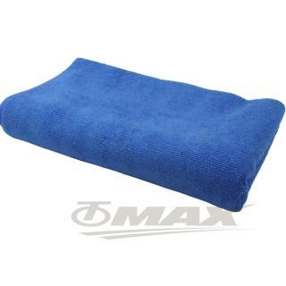 【omax】超纖維加大洗車巾藍色150x60cm-2入(12H)