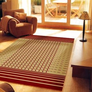 【范登伯格】瑪嘉達 輕鬆小品優質地毯-落日(150x220cm)