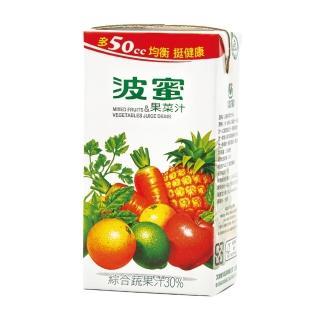 【波蜜】波蜜果菜汁300ml(24入/箱)