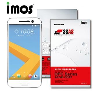 【iMOS 3SAS】HTC Desire 10 lifestyle(疏油疏水 螢幕保護貼)