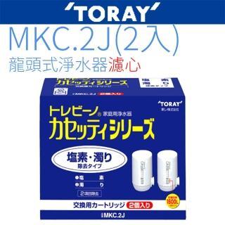 【東麗TORAY】濾心(MKC.2J  2入 日本原裝)