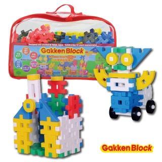 【學研Gakken】學研益智積木-挑戰系列-紅色(STEAM教育玩具)