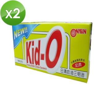 【NISSIN】Kid-O日清三明治餅乾(奶油+檸檬)