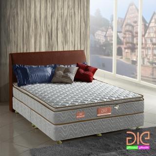 【aie享愛名床】竹碳+3M防潑水真三線獨立筒床墊-雙人加大6尺(經濟型)