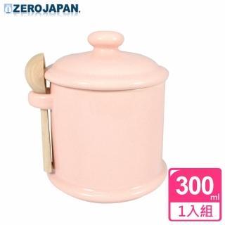 【ZERO JAPAN】陶瓷儲物罐300ml(桃子粉)