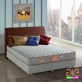 【aie享愛名床】竹碳+3M防潑水二線彈簧床墊-雙人5尺(經濟型)