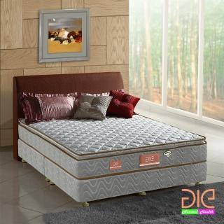 【aie享愛名床】竹碳 3M防潑水真三線彈簧床墊-雙人5尺 經濟型