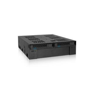 【ICY DOCK】2.5/3.5轉5.25吋硬碟內接模組(MB322SP-B)