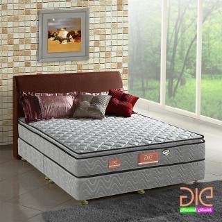 【aie享愛名床】竹碳 3M防潑水 記憶膠真三線彈簧床墊-雙人5尺 經濟型