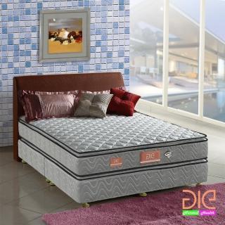 ~aie享愛名床~竹碳 3M防潑水 記憶膠真四線彈簧床墊~雙人加大6尺 經濟型