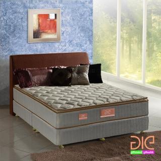 ~aie享愛名床~竹碳 涼感紗 乳膠真三線彈簧床墊~雙人加大6尺 實惠型