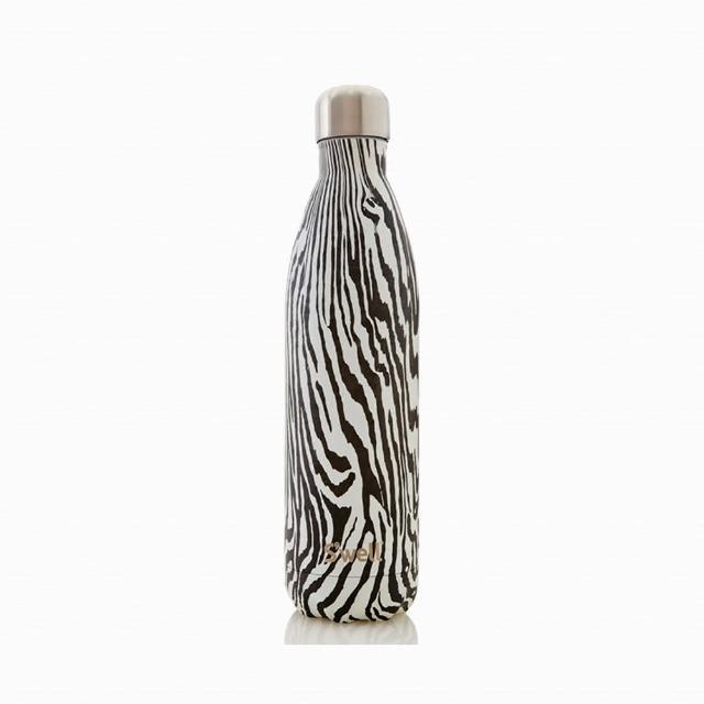 【Swell】Noir Zebra-25oz-美國時尚不鏽鋼保冷.保溫瓶750ml(Textile COLLECTION)