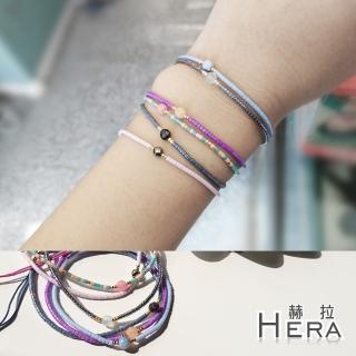 【Hera】日本進口米珠極細串珠手鍊(6款)