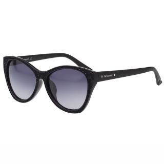 【SWAROVSKI】-貓眼 太陽眼鏡SW108F(黑色)