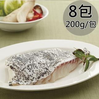 【天和鮮物】龍虎斑帶皮魚排8包(200g/片)