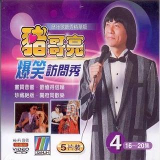 【正統豬哥亮訪問秀】豬哥亮爆笑訪問秀 4(5VCD)