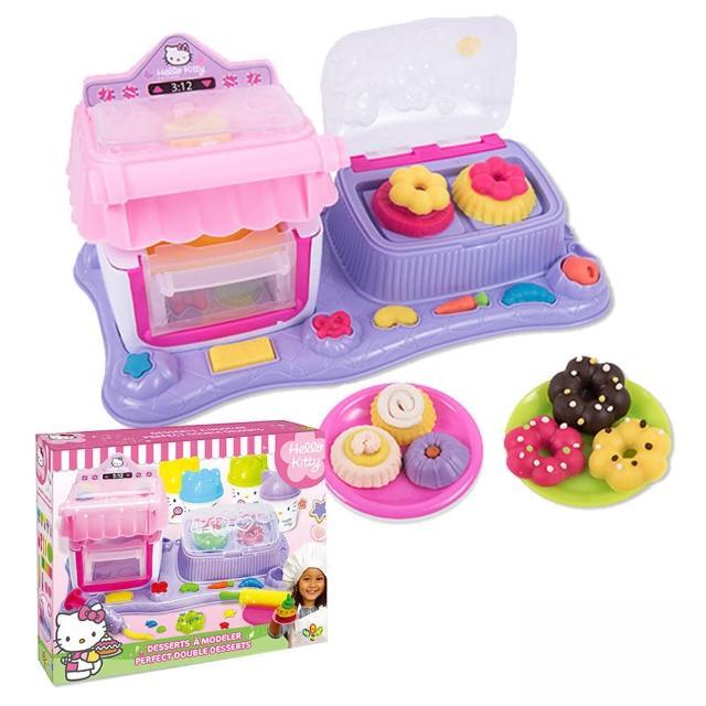 【酷博士】凱蒂貓KITTY流行甜品店黏土組 HKP044